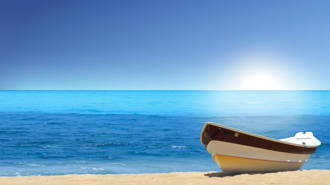 Download Wallpaper Relaxing time at the seaside - Summer holiday