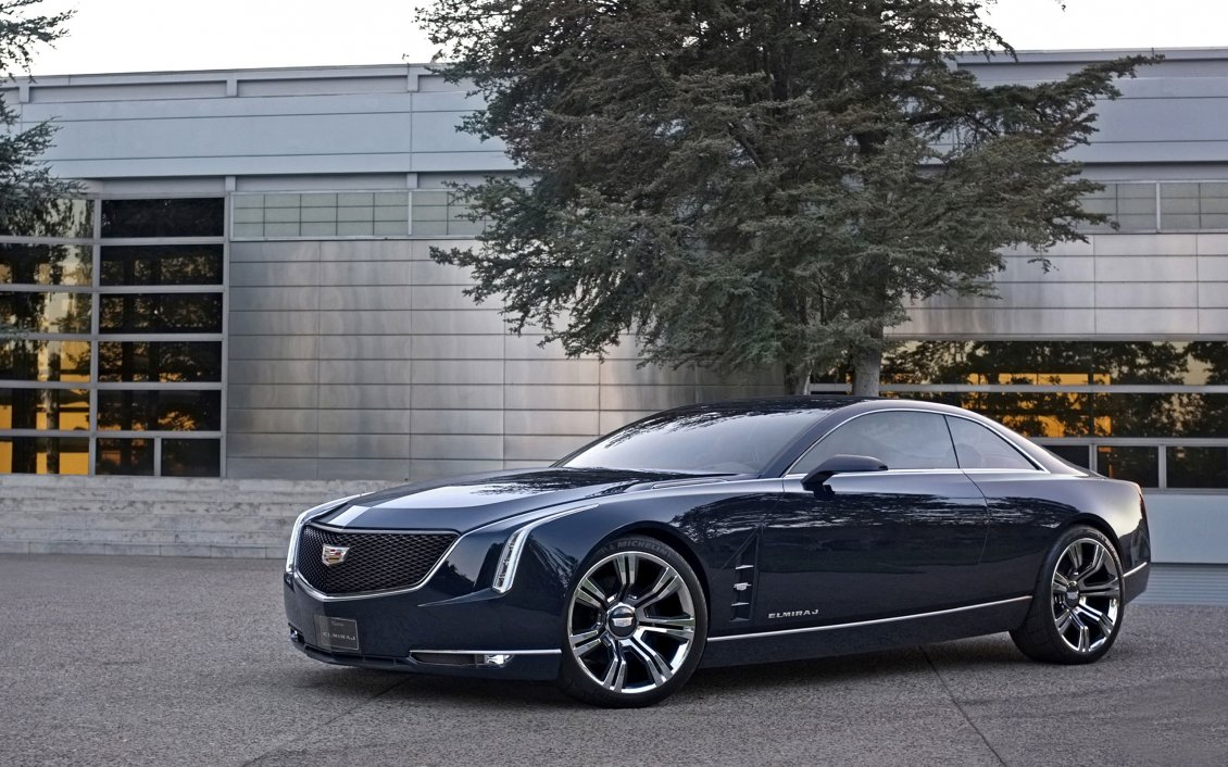 Download Wallpaper Cadillac Elmiraj Concept-Wide HD