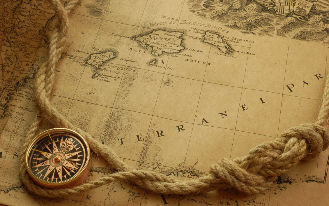 Best Wallpaper Macbook Map - 7752_Antiquated-Cartography-Old-map-and-compass  Best Photo Reference_689581.jpg