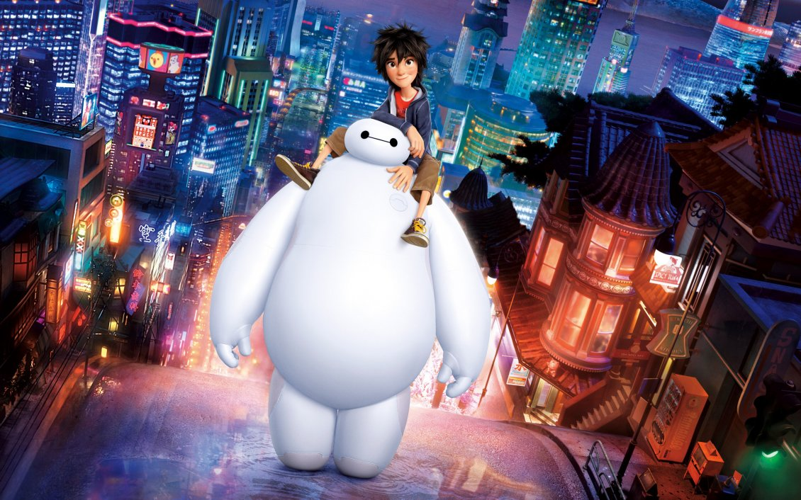 Download Wallpaper Image from Big Hero 6 movie
