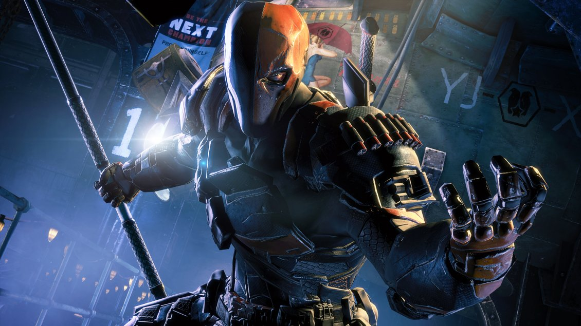 Batman Arkham Origins Deathstroke HD