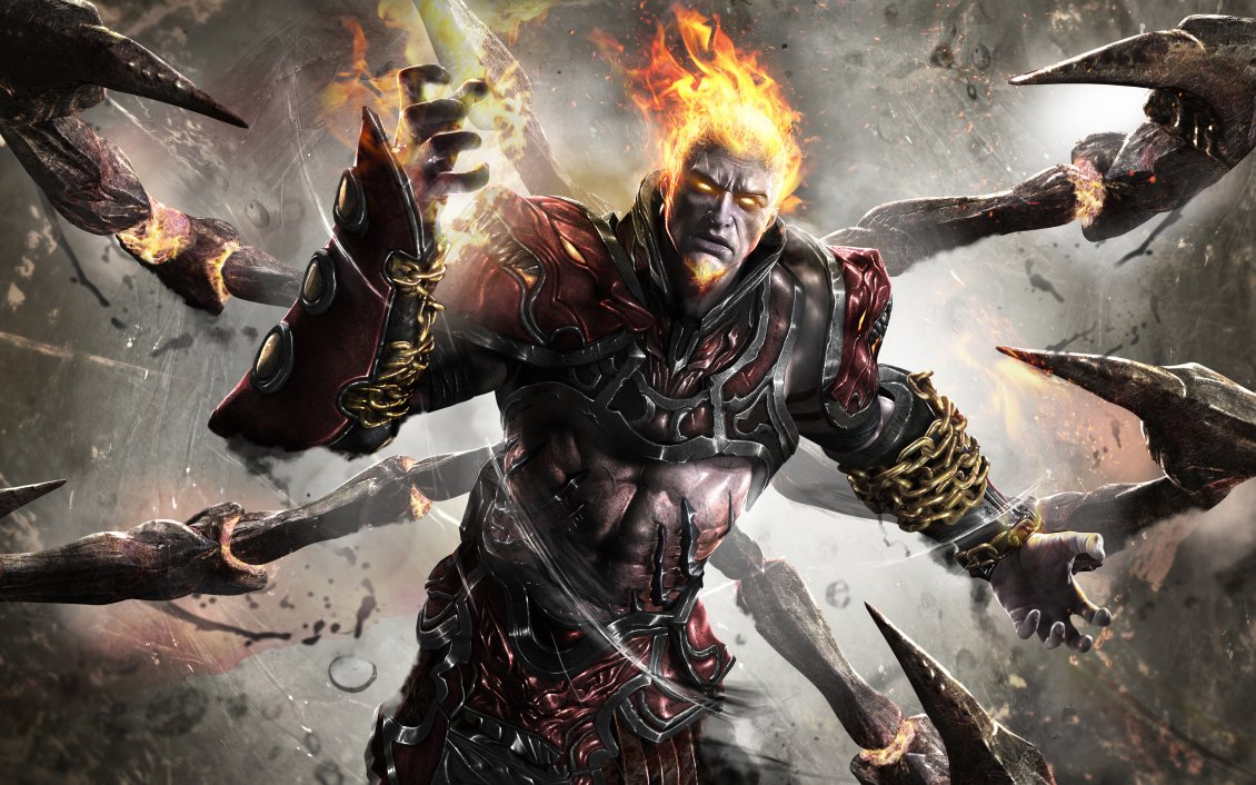 Download Wallpaper Ares from God of war Ascension