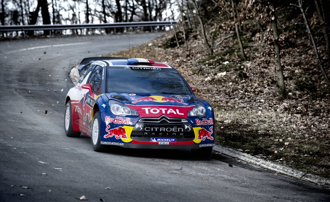 Download Wallpaper Citroën DS3 WRC photo