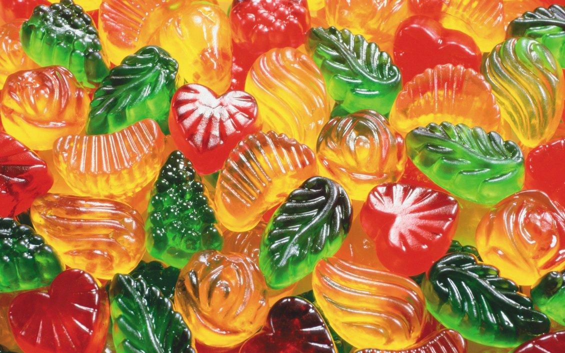 Как делают желейные конфеты (видео)