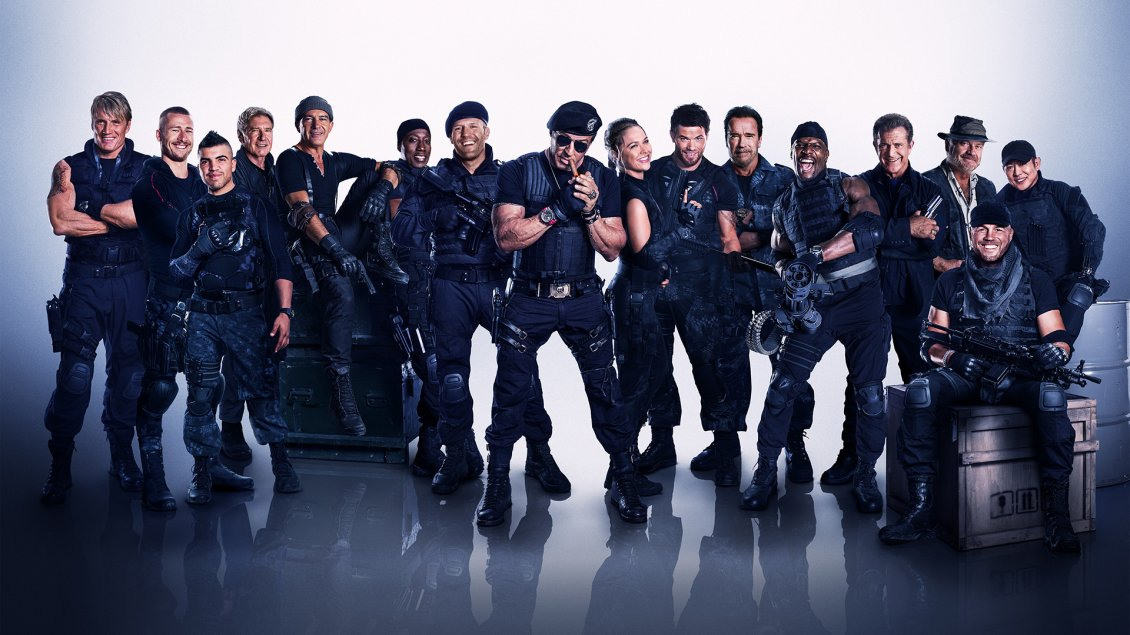 Download Wallpaper Actors of The Expendables 3 movie