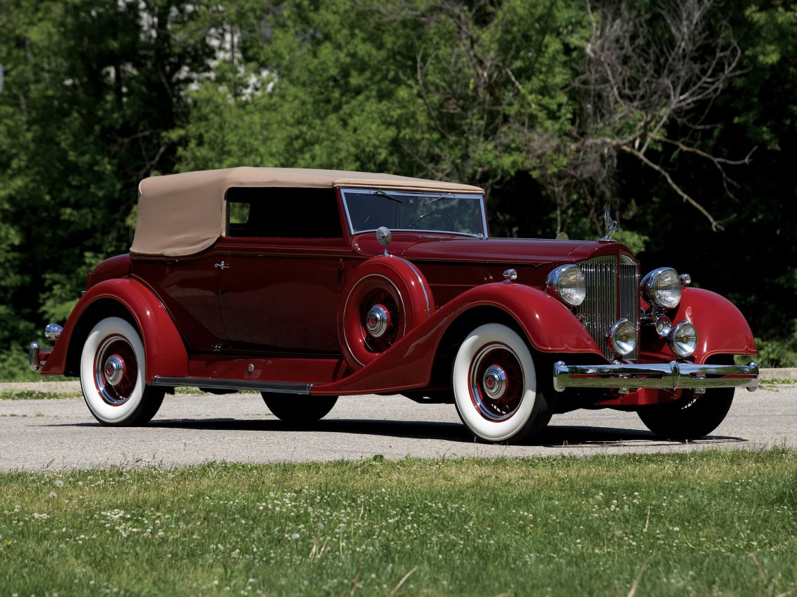 Download Wallpaper 4 1934 Packard Super Eight Convertible Victoria