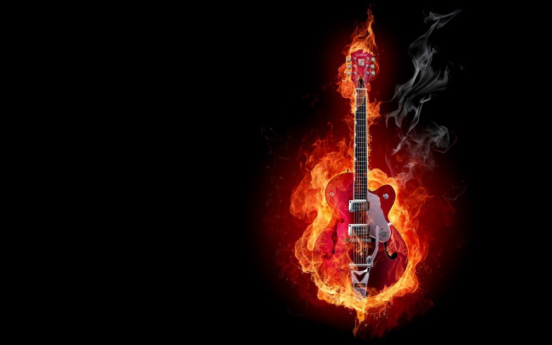 Fantastic Wallpaper Music Fire - 9054_Electric-guitar-on-fire-wonderful-music  You Should Have_129112.jpg
