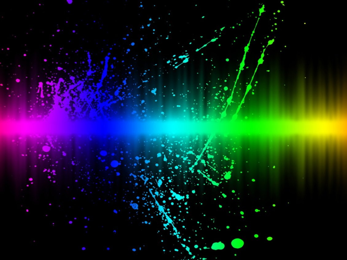 Download Wallpaper Colors explosion - Abstract 3D wallpaper