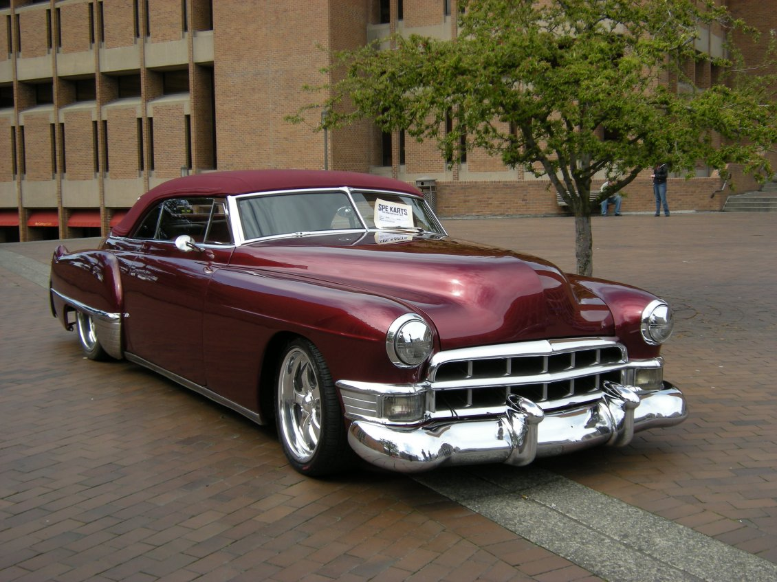 Download Wallpaper Cadillac DeVille Coupe - Vintage car