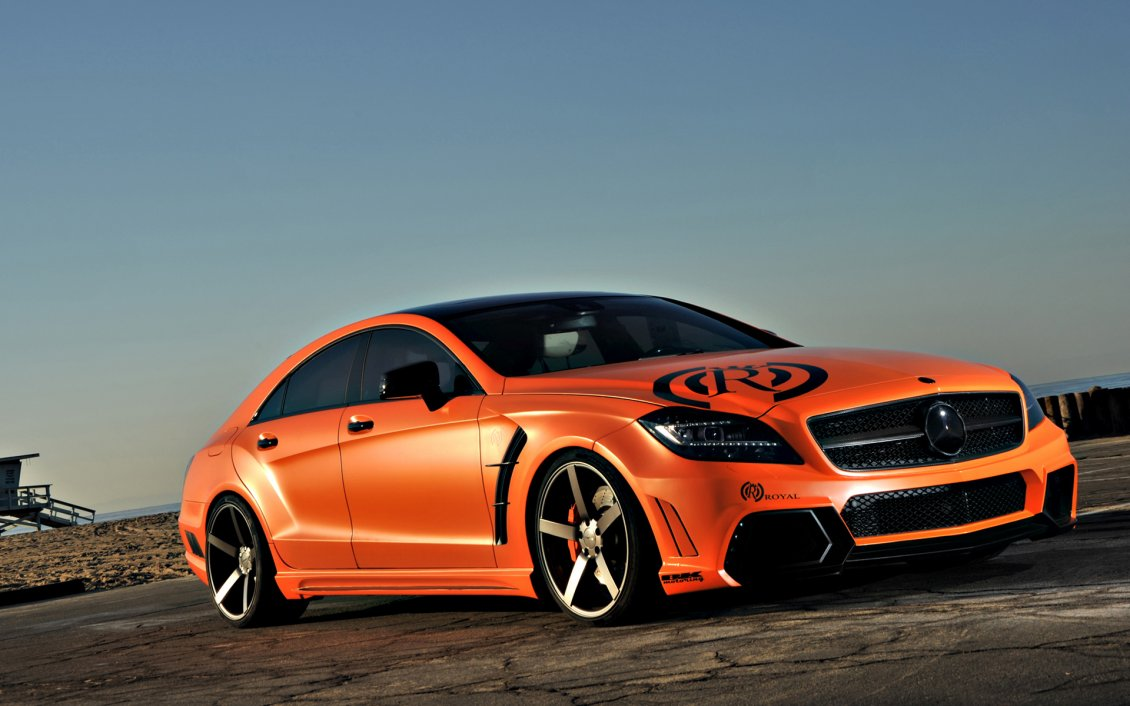 orange vorsteiner mercedes benz e class