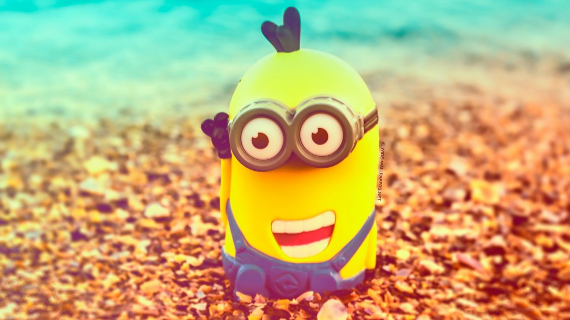 Acura Of The Desert >> Minion with a smile on face - Anime wallpaper