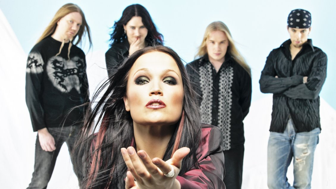 Download Wallpaper Members of Nightwish band - Music Wallpaper