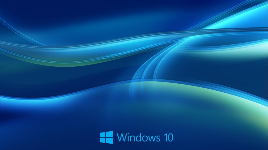HD blue lines - Beautiful windows 10 wallpaper