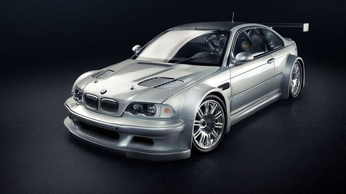 Download Wallpaper BMW M3 Coupe tunning - Sport gray car