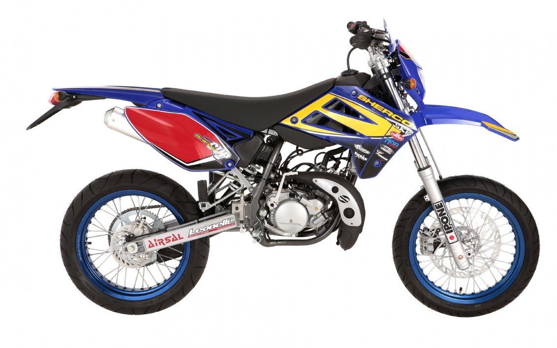 colorful sherco enduro 50cc motorcycle. Black Bedroom Furniture Sets. Home Design Ideas