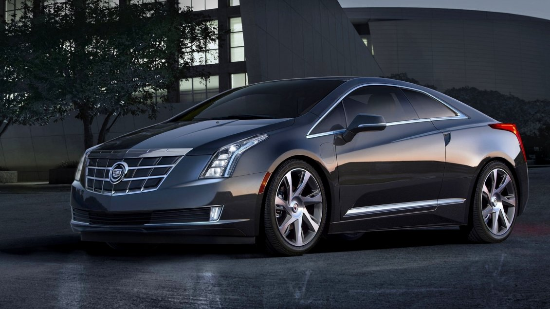 Download Wallpaper Black Cadillac ELR Coupe - Gorgeous car