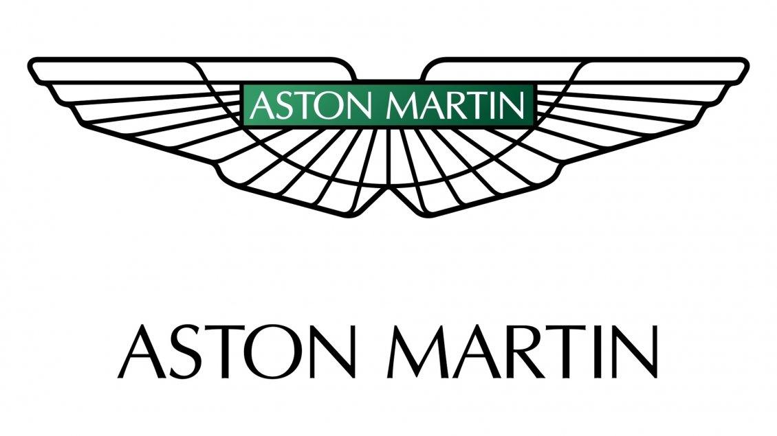 Aston Martin Emblem White And Green Logo - Aston martin logo
