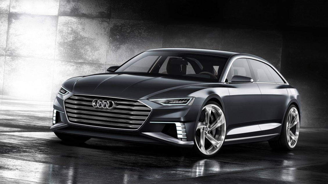 Download Wallpaper Beautiful Audi Prologue Avant Concept
