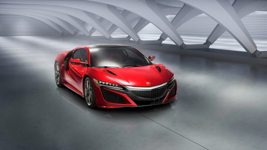 Download Wallpaper Red Acura NSX Static - Sport car wallpaper
