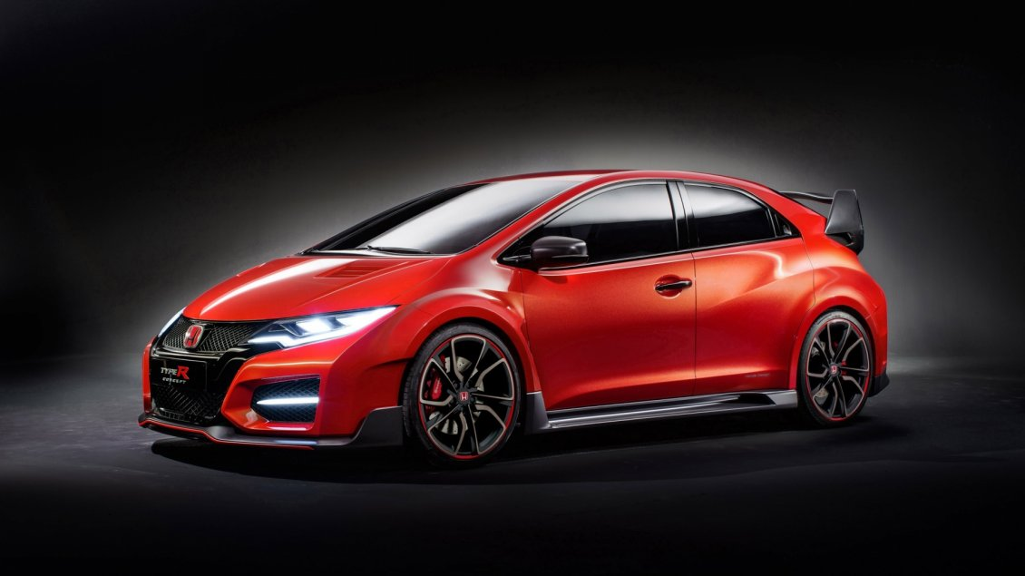 Red Honda Civic Type R Concept