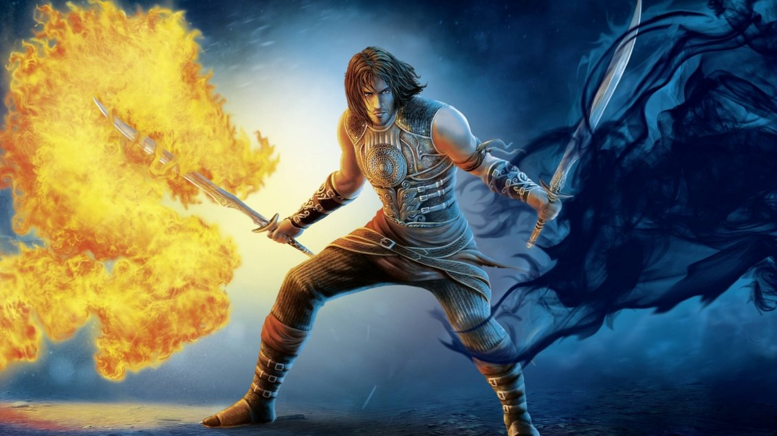 Download Wallpaper Prince of Persia The Shadow and the Flame - Game poster