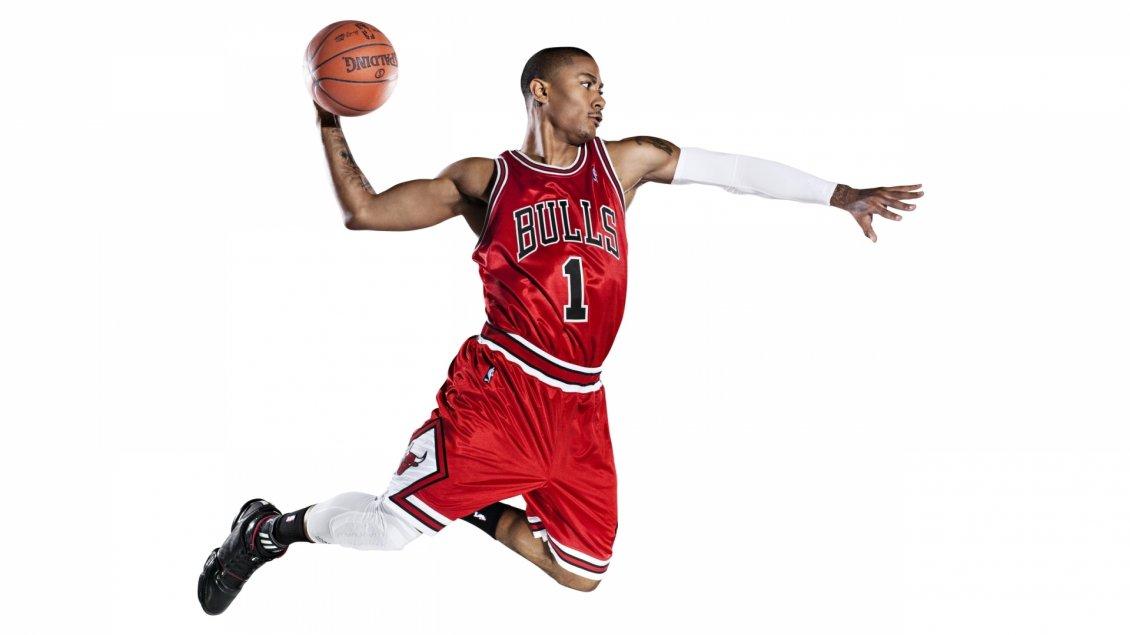 The American Basketball Player Derrick Rose