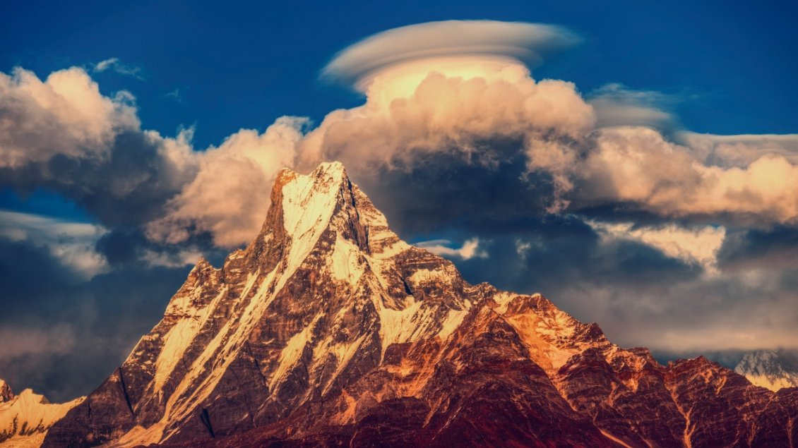 Download Wallpaper Himalayas mountain - Amazing landscape from Nepal