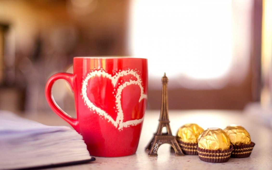 Audi Coffee Cup >> Paris, love, chocolate - I love You