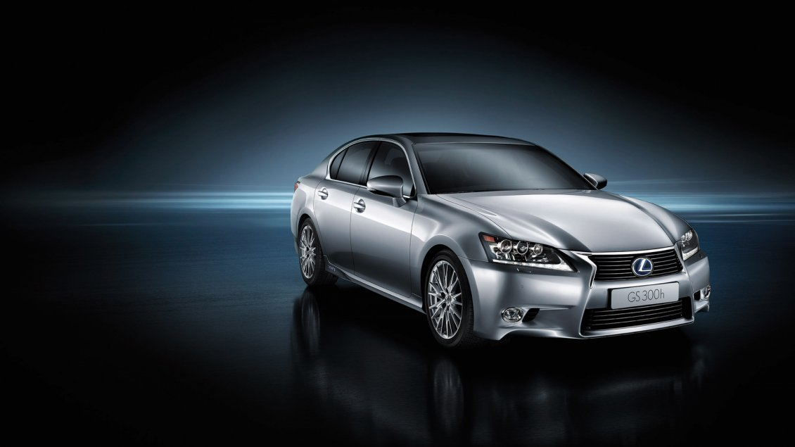 Download Wallpaper Beautiful gray Lexus GS 300H - Car wallpaper