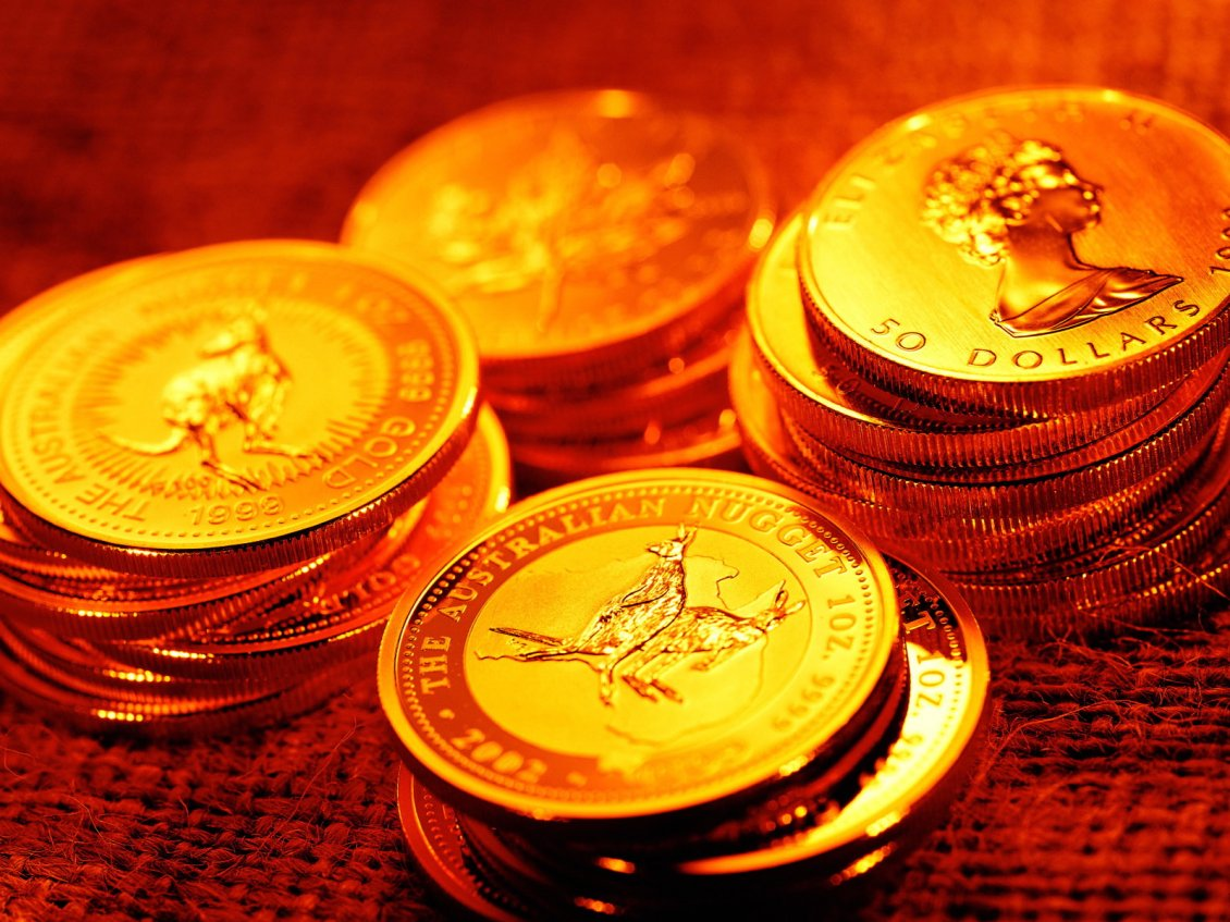 Golden Money From All Over The World