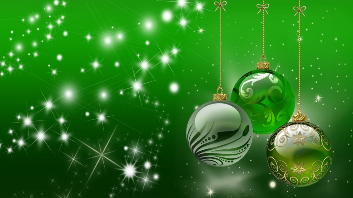 Download Wallpaper Green holiday wallpaper - Christmas accessories