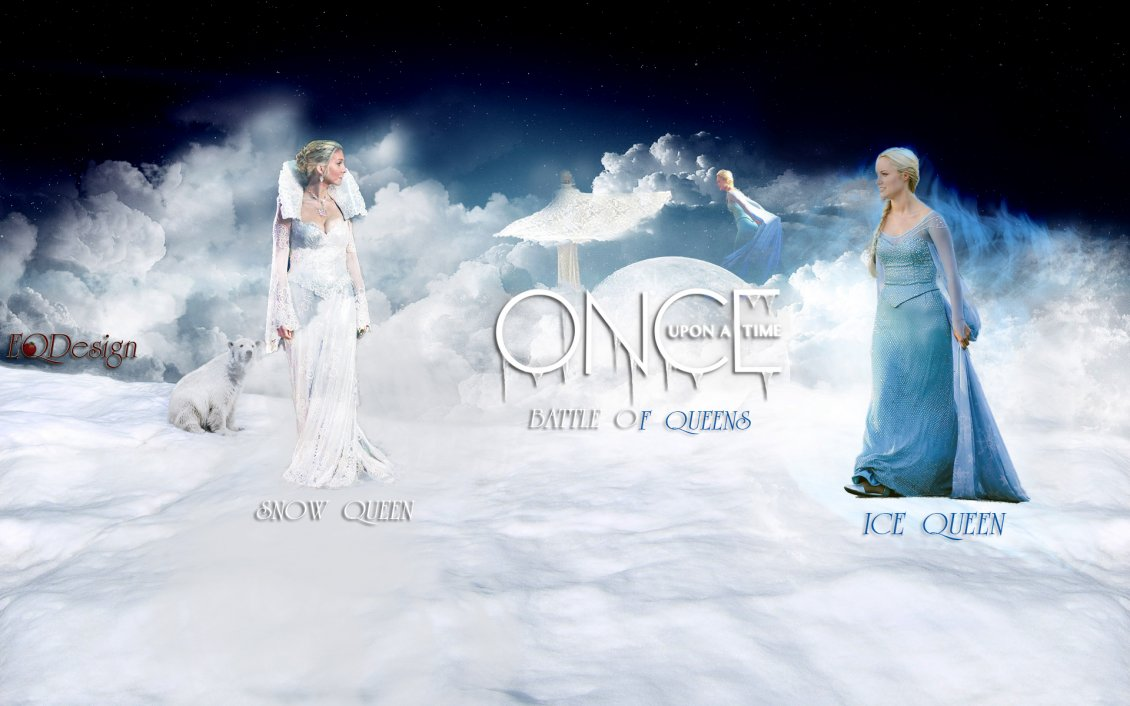 Download Wallpaper Once upon a time - winter serial