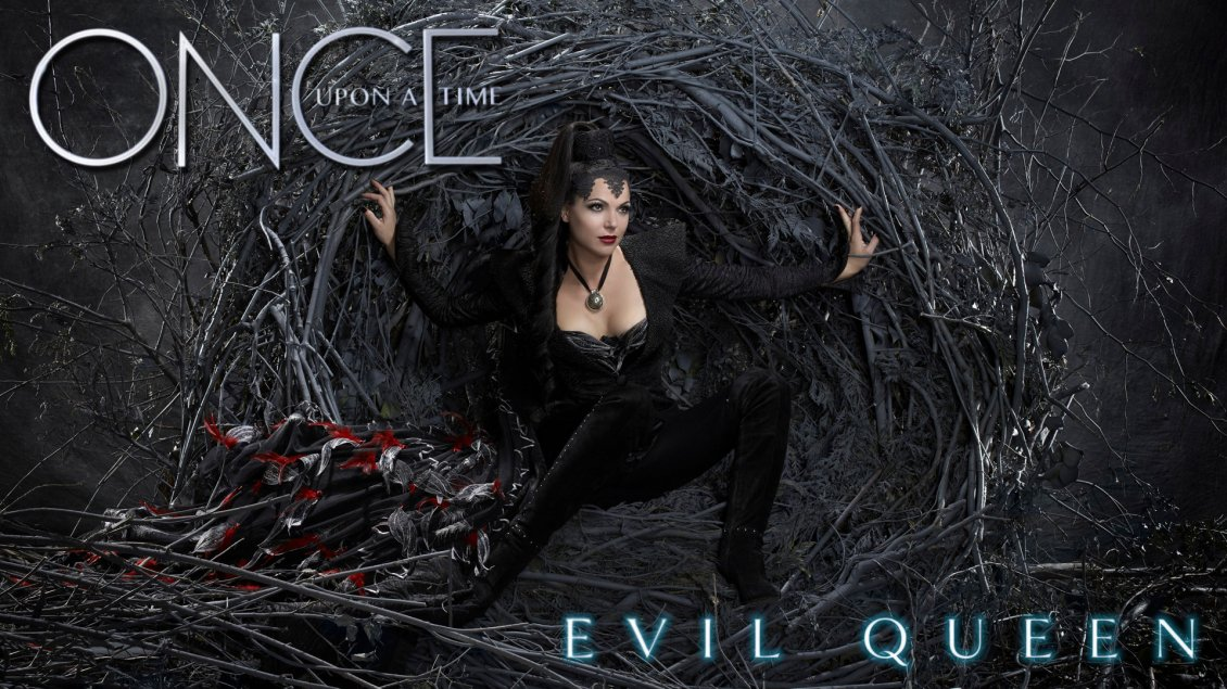 Download Wallpaper Evil queen from serial Once upon a time - HD wallpaper