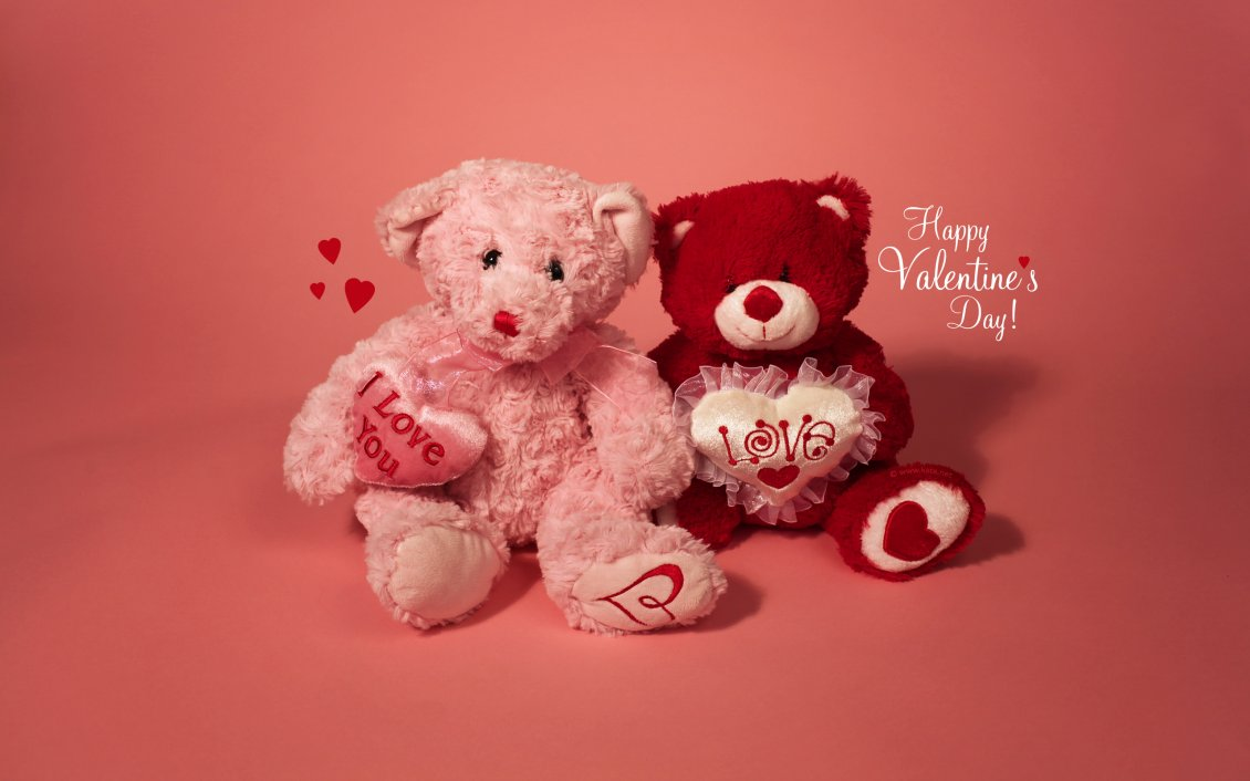 Download Wallpaper I love you my teddy bear - Happy Valentine's Day