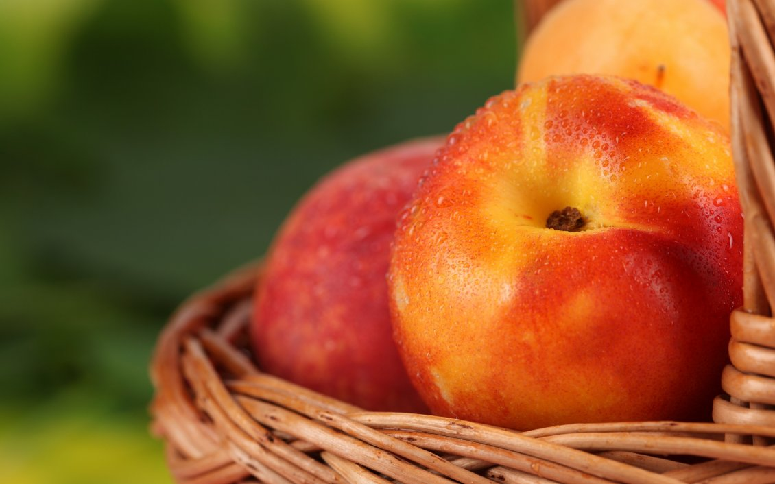 Download Wallpaper Good morning fresh fruits - Macro peaches