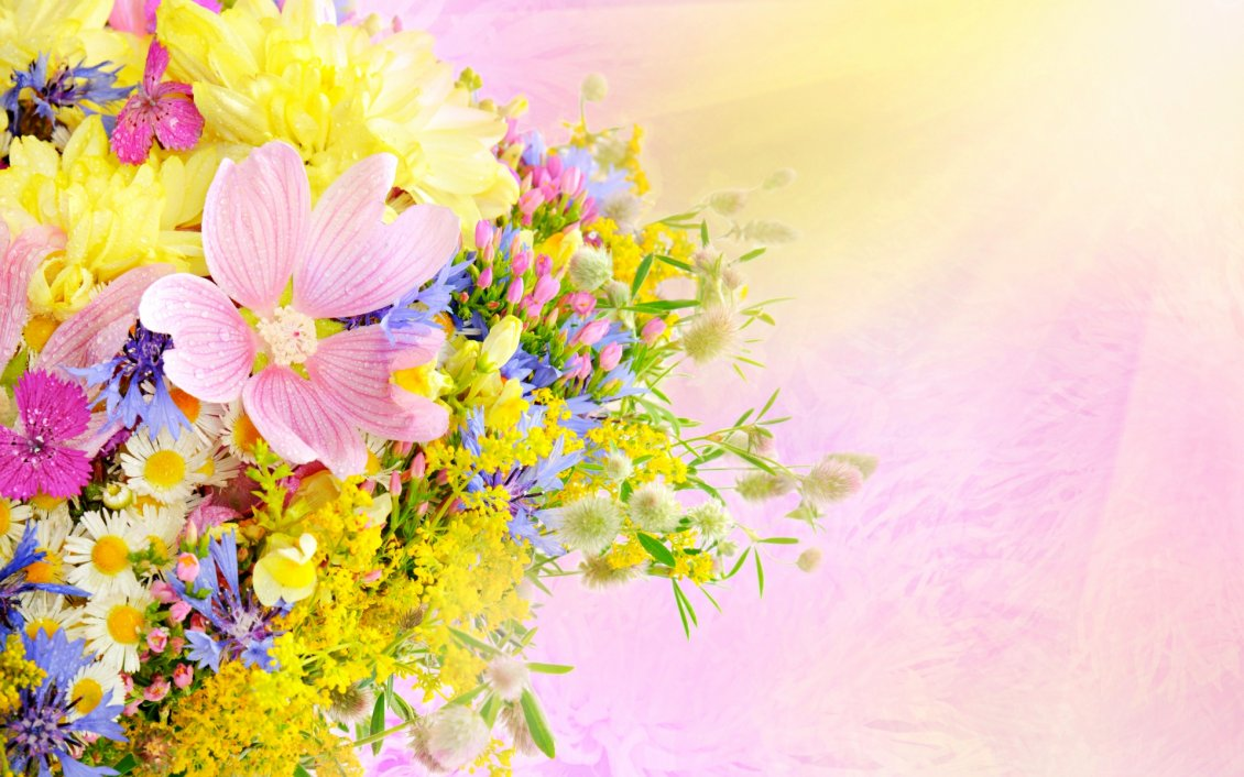 Download Wallpaper Spring flower perfume - Wonderful bouquet