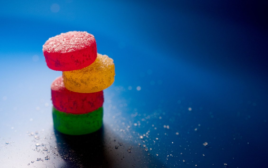 Download Wallpaper Four delicious candies - Sweet wallpaper