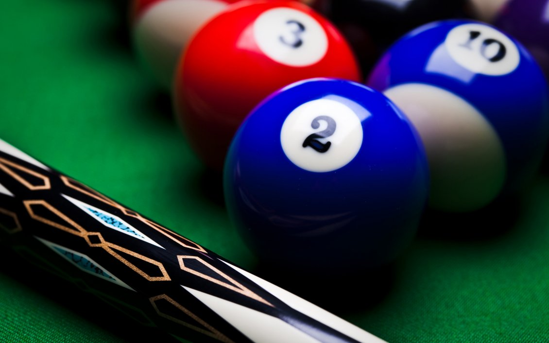 Download Wallpaper Macro sport wallpaper - Billiard pool game