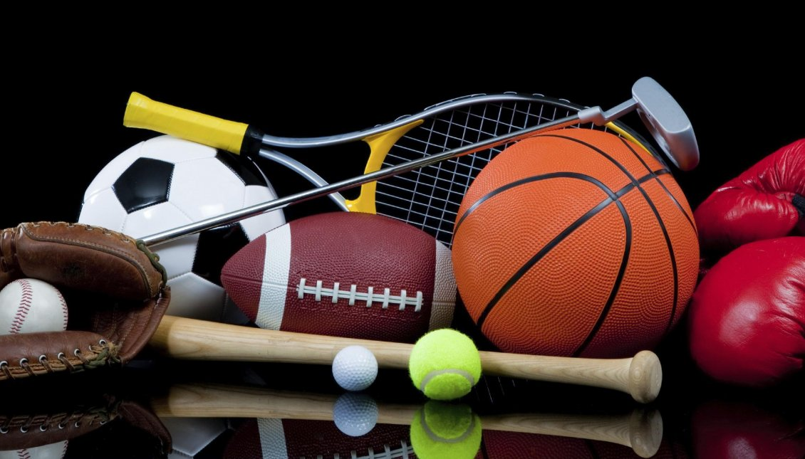 Balls From All Sport Do Sport All The Time Hd Wallpaper