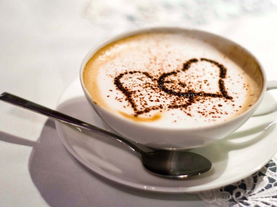 Download Wallpaper Good morning my love with a delicious coffee from my heart