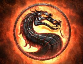 Mortal Kombat dragon logo  HD