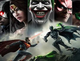 Injustice: Gods Among Us PS3 Game HD
