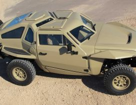 Concept fighting vehicle of US military