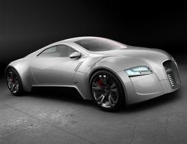 Gray Audi Super Concept
