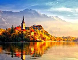 Transylvania Wallpaper - Autumn Day