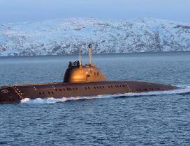 Submarine surfaced HD