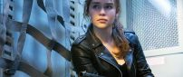 Emilia Clarke as Sarah Connor in Terminator Movie