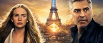 Movie - Tomorrowland, George Clooney and Britt Robertson