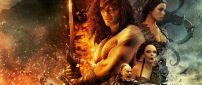 Jason Momoa in Conan the Barbarian movie