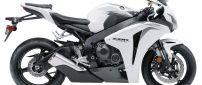 Black and white Honda CBR 1000 RR